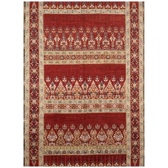 Schumacher Meetra Area Rug in Hand Knotted Wool Silk, Patterson Flynn Martin