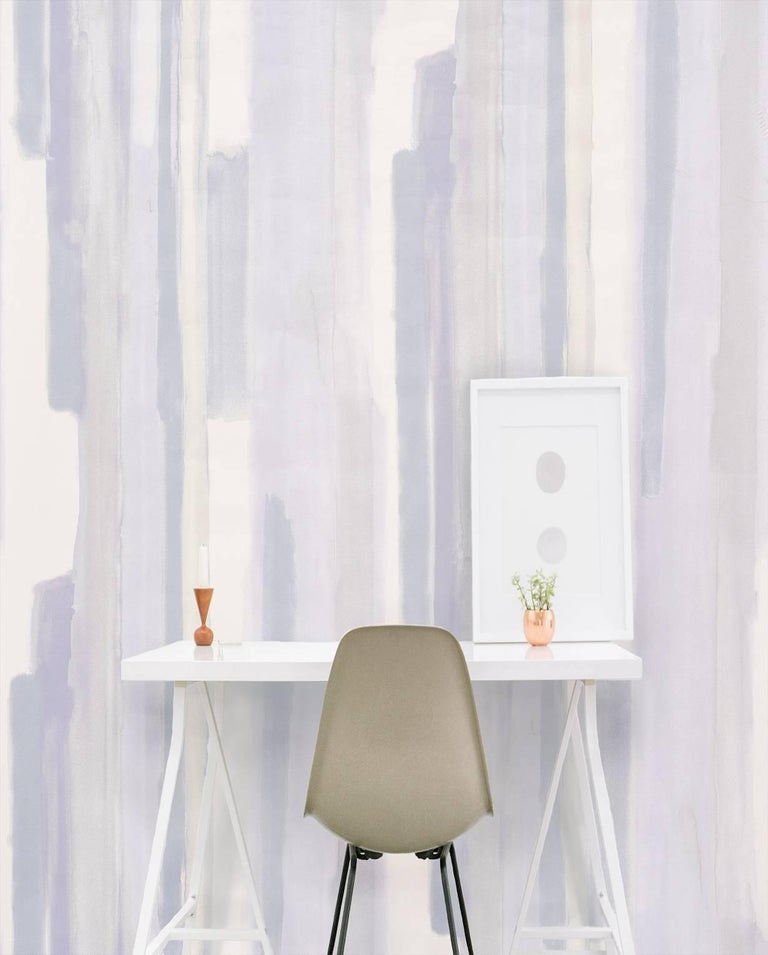 This is a beguiling and romantic wallpaper design inspired by the dreamy effect of watercolor hues softly blending into one another. Also available as a fabric.  Wallcoverings Product detail: Product name: Watercolor Color: Celadon  Measures: