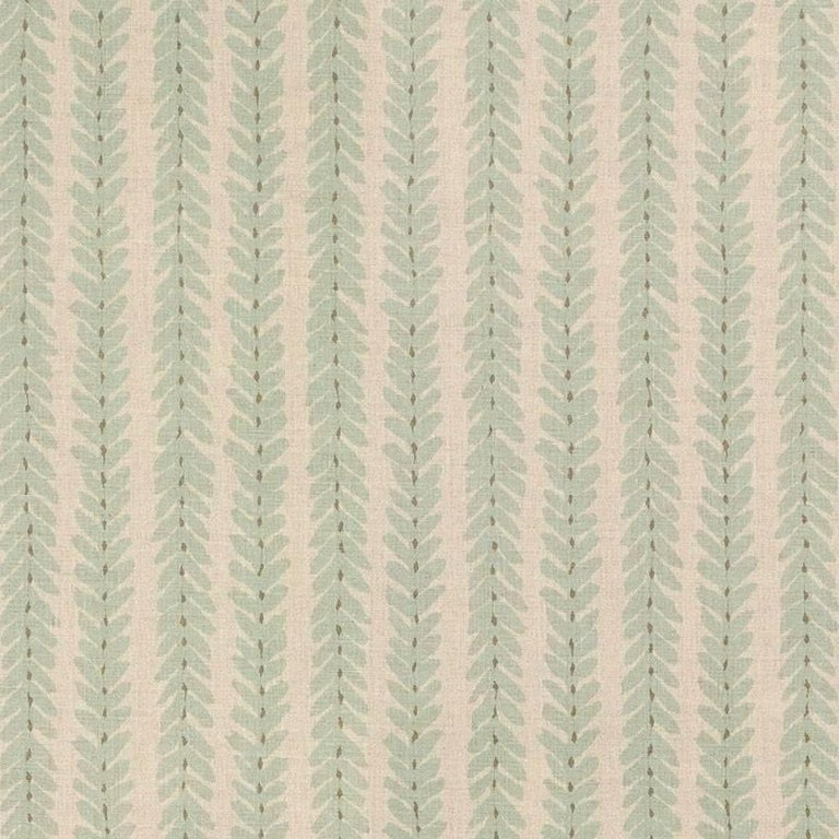Schumacher Modern Classic Woodperry Woven Blue Two-Sided 18