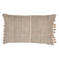 Schumacher Mohave Natural Two-Sided Silk Pillow