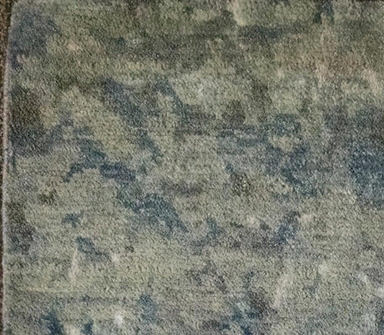 Modern Schumacher Nexus Area Rug in Hand-Knotted Wool & Silk by Patterson Flynn Martin For Sale