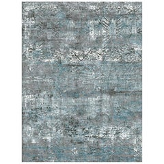 Schumacher Nexus Area Rug in Hand-Knotted Wool & Silk by Patterson Flynn Martin