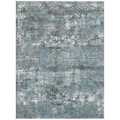 Schumacher Teppich aus handgeknüpfter Wolle & Seide von Patterson Flynn Martin