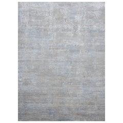 Schumacher Patterson Flynn Martin Midori handgeknüpfter moderner Teppich aus Wolle und Seide