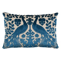 Schumacher Pavone Velvet Pillow