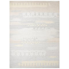 Schumacher Pernilla Large Size Handwoven Area Rug, Patterson Flynn Martin