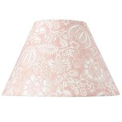Schumacher Pomegranate Print Petal Linen Lampshade