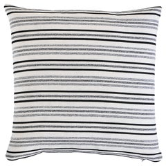 Schumacher Poplar Indoor/Outdoor Pillow in Carbon