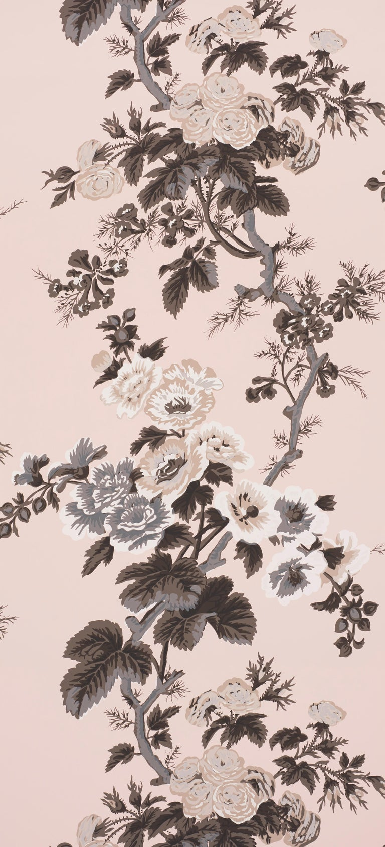 This chintz pattern was famously used by designer Albert Hadley for his client Nancy Pyne. It's one of our most sought-after designs.   Since Schumacher was founded in 1889, our family-owned company has been synonymous with style, taste, and