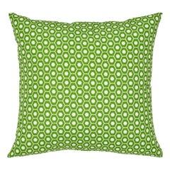Schumacher Queen B II Green Indoor/Outdoor Pillow