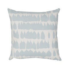 Schumacher Queen of Spain Sky Cotton Two-Sided Pillow