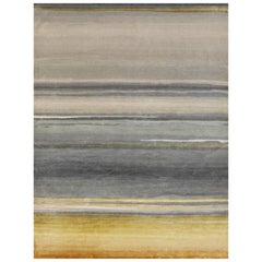 Schumacher Resonance Area Rug in Hand-Knotted Wool by Patterson Flynn Martin