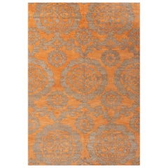Schumacher Sadri Area Rug in Hand Knotted Wool, Patterson Flynn Martin