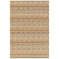 Schumacher Small Gropius Rug in Hand-Woven Sisal by Patterson Flynn Martin