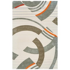 Schumacher Small Stork Club Rug in Hand-Tufted Wool by Patterson Flynn Martin