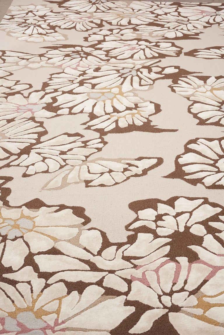 The Retro collection's atomic-era charm makes for an elegant yet amusing collection of Fine rugs. Hand tufted and made of wool, silk, and viscose, the Retro collection will give you feelings of rose-tinted nostalgia and have you wishing for simpler