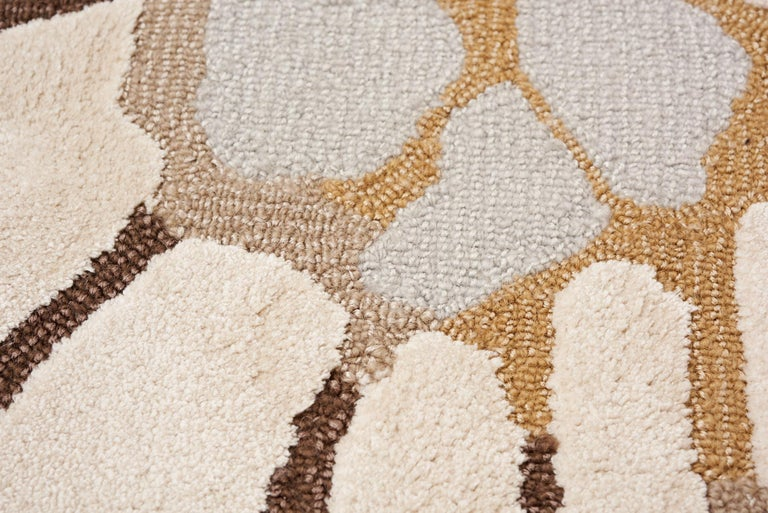 Chinese Schumacher Spiffy Area Rug in Hand-Tufted Wool Silk, Patterson Flynn Martin For Sale