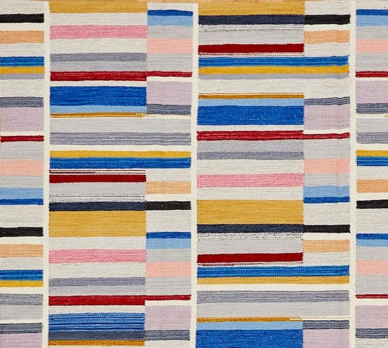 Modern Schumacher Stella Area Rug in Hand-Woven Wool by Patterson Flynn Martin For Sale