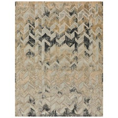 Schumacher Stradane Area Rug in Hand-Knotted Silk by Patterson Flynn Martin