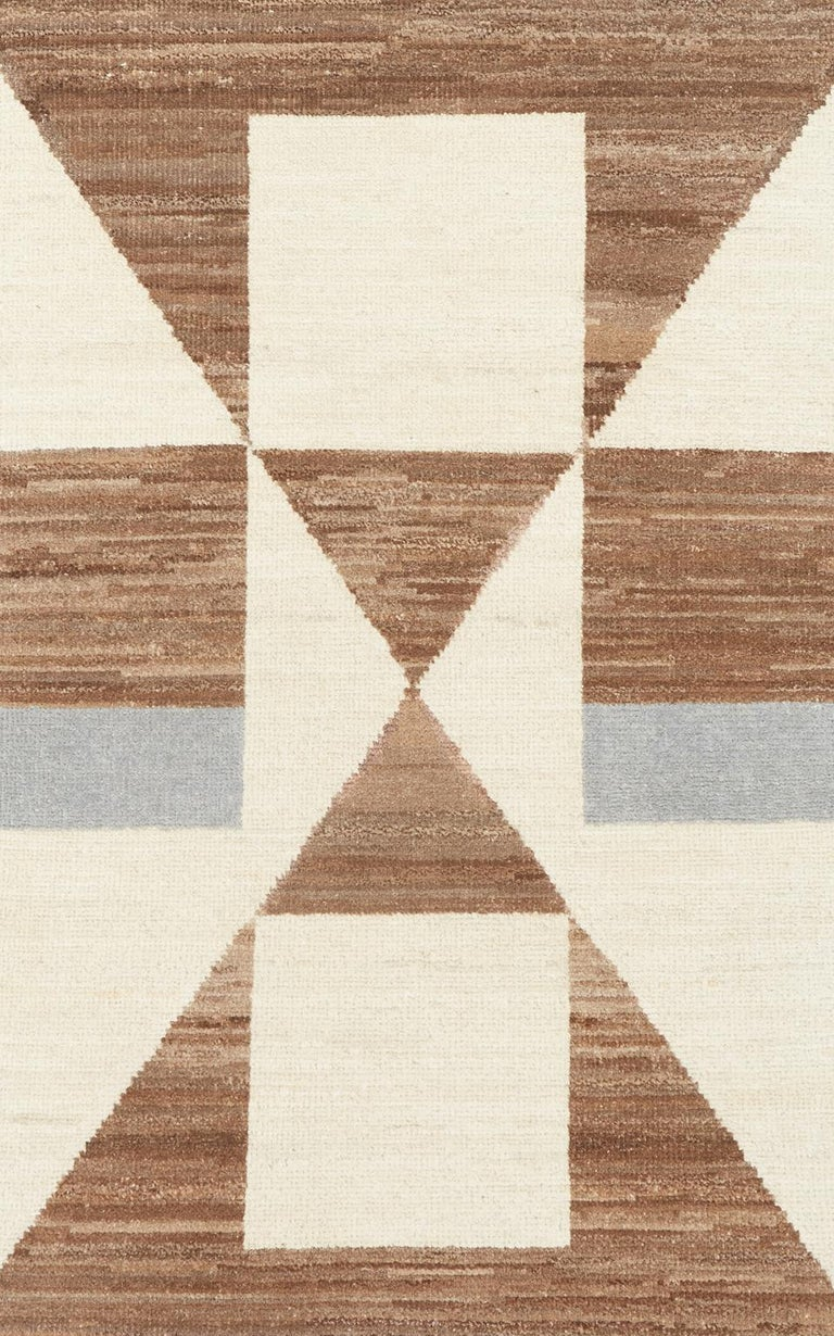 Rugs and floor coverings   Rug pattern: Tenaya Dimensions: 9' x 12' Fiber content: Wool Construction: Hand-Knotted Color way: Almond Valley  Since Schumacher was founded in 1889, our family-owned company has been synonymous with style, taste, and