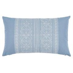 """Schumacher Toledo 26"""" Lumbar Pillow in Chambray"""