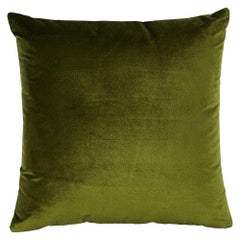 "Schumacher Venetian Silk Velvet 18"" Pillow"