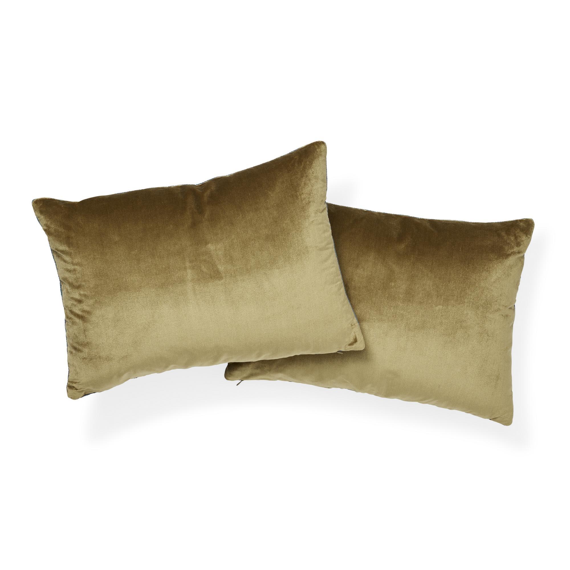SALE Luxury Velvet Throw Pillows Velvet