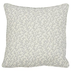 Schumacher x Veere Grenney Folly Opington Blue Two-Sided Linen Pillow