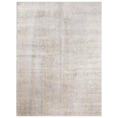 Schumacher Yodan Area Rug in Hand Knotted Wool Silk, Patterson Flynn Martin