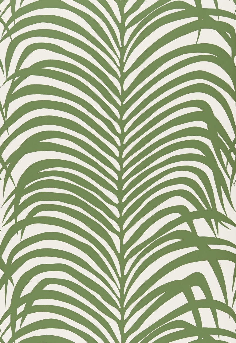 A striking hybrid that recalls both zebra stripes and tropical palm leaves, this wild and wonderful pattern is available as a fabric and a wallcovering.  Since Schumacher was founded in 1889, our family-owned company has been synonymous with style,