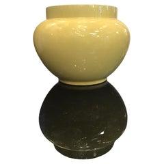 Sci Laveno Pot Holder Ceramic 1950 Italy