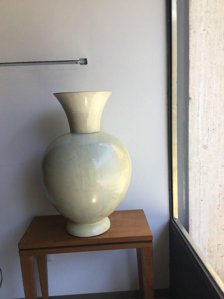 "S.C.I. Laveno Vase ""Guido Andlovitz ""Ceramic, 1930, Italy In Good Condition In Milano, IT"