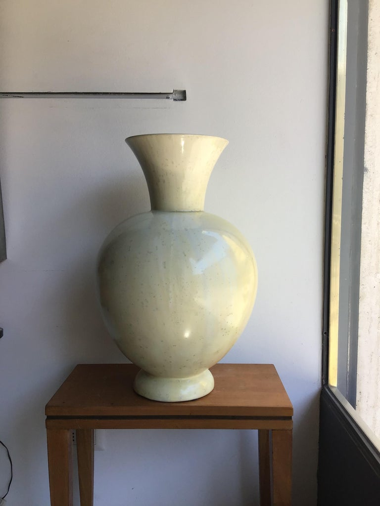 """Mid-20th Century S.C.I. Laveno Vase """"Guido Andlovitz """"Ceramic, 1930, Italy For Sale"""