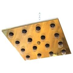 Sciolari Italian Modern Geometric Wall Sconce or Ceiling Fixture