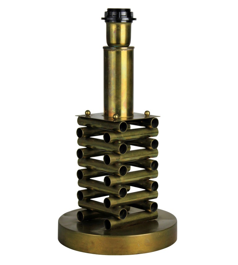 Sciolari Table Lamp in Brass 1