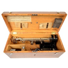 Scleroscope Made in the US, Instrument to Measure the Hardness of Metals