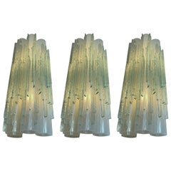 Sconces Globula Glass by Poliarte, Italy, 1970s