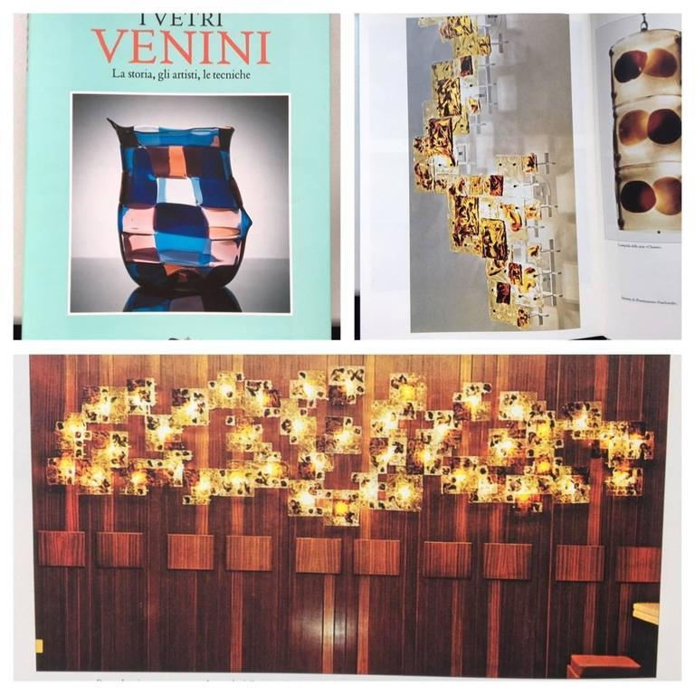 Sconces Patchwork Murano Glass by Toni Zuccheri for Venini, Italy, 1970s For Sale 4
