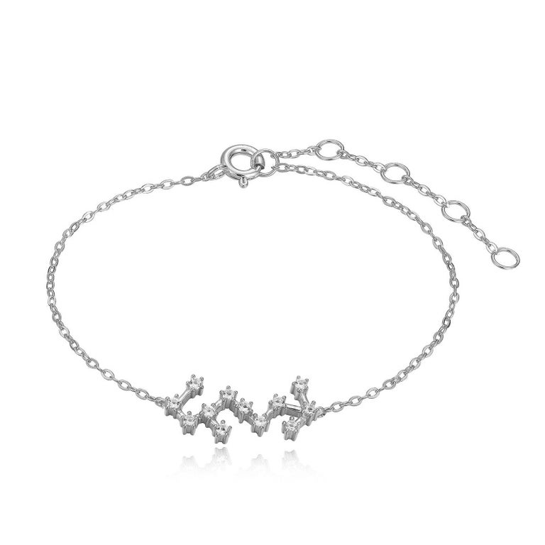 Modern Scorpio Constellation Bracelet For Sale