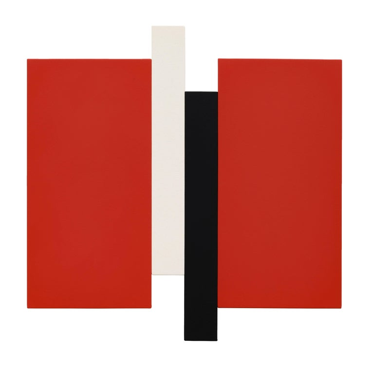Scot Heywood Abstract Painting - Arupa - Red, Black, Canvas