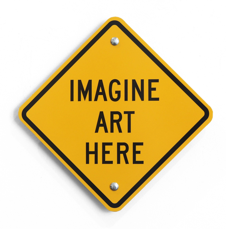 Imagine Art Here VII -  Steel Sculpture