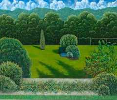 """Alaniesse Garden"" by Scott Kahn, circle of Matthew Wong, Theodoros Stamos"