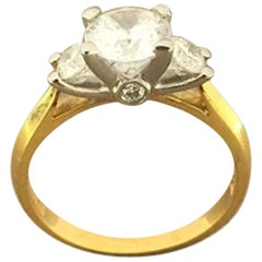 Scott Kay Ladies Crown Setting Ring M722RD10FP