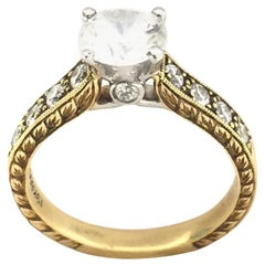 Scott Kay Ladies Diamond Engagement Ring M1113RD10FP