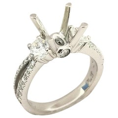 Scott Kay Ladies Diamond Setting Ring M10880DRDPP