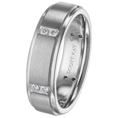Scott Kay Men's Diamond Band C670RDP6
