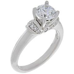 Scott Kay Platinum Diamond Engagement Ring