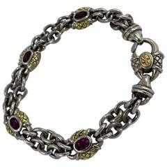 Scott Kay Silver and Gold Bracelet