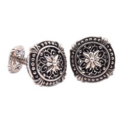 Scott Kay Sterling Silver Cufflinks