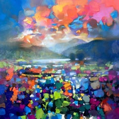High Resonance, Scottish Landscape Oil Painting